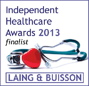 Independent Healthcare Awards 2013